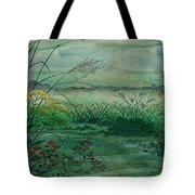 The Green, Green Grass Of Home Tote Bag
