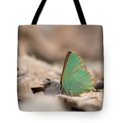 The Green Hairstreak Tote Bag