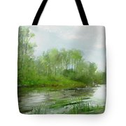 The Green Magic Of Ordinary Days Tote Bag