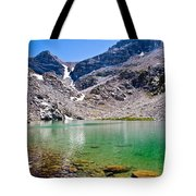 The Green Of Treasure Lake 3  Tote Bag