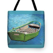 The Green Rowboat Tote Bag