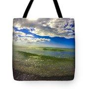 The Green Sea Tote Bag