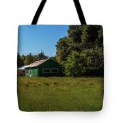 The Green Shack Tote Bag