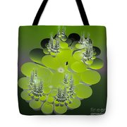 The Green Towers Tote Bag