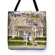 The Greystone Inn In Brigadoon Tote Bag