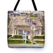 The Greystone Inn In Brigadoon Tote Bag