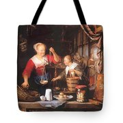 The Grocery Shop 1672 Tote Bag