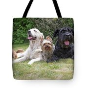 The Group Of Dogs Tote Bag