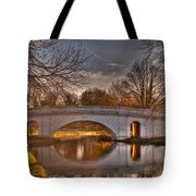The Grove Bridge On The Grand Union Canal  Tote Bag