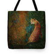 The Guard At The Temple Tote Bag