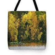 The Guard Of The Island Tote Bag