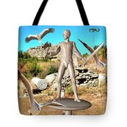 The Guardian Of The Ruins 1 Tote Bag