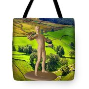The Guardian Of The Valley Tote Bag
