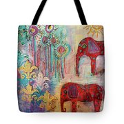 The Guardians Of Night And Day Tote Bag