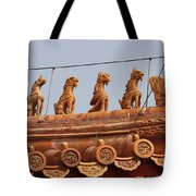 The Guardians Of The Forbidden City Tote Bag