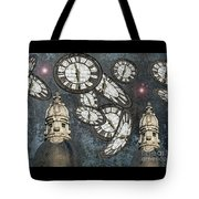 The Guardians Of The Time Stopped Tote Bag