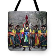The Guards Of Seoul. Tote Bag