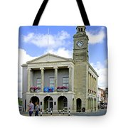 The Guild Hall At Newport Tote Bag