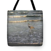 The Gulf At Twilight - Going My Way Tote Bag