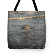 The Gulf At Twilight - One For The Road Tote Bag