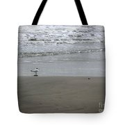The Gulf In Shades Of Gray - Seaing Tote Bag