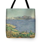 The Gulf Of Marseilles Seen From L'estaque Tote Bag