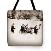 The Guns Of Gettysburg Tote Bag