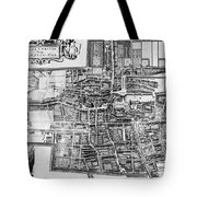 The Hague: Map, C1650 Tote Bag