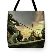 The Hammer Throw Tote Bag