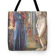 The Hand Refrains 2nd Series Pygmalion 1878 Tote Bag