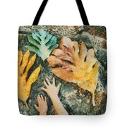 The Hands 2 Tote Bag