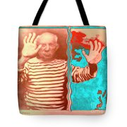 The Hands Of Picasso Tote Bag