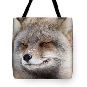 The Handsome Cross Fox Male Tote Bag