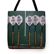 The Hans Darts Tote Bag