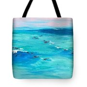 The Happy Beach Tote Bag