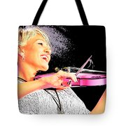 The Happy Fiddler Tote Bag
