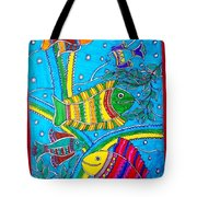 The Happy Fishes Tote Bag