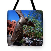 The Happy San Francis Tote Bag