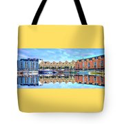 The Harbor At Galway Tote Bag