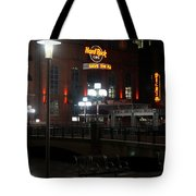 The Hard Rock At The Inner Harbor Tote Bag
