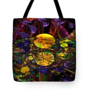 The Harmony Of Truly Cosmic Spheres Tote Bag