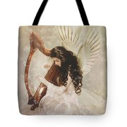 The Harpist Tote Bag