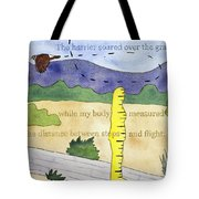The Harrier At Jackson-frazier Tote Bag