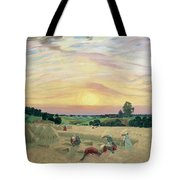 The Harvest Tote Bag by Boris Mikhailovich Kustodiev