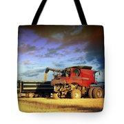 The Harvest Run Tote Bag