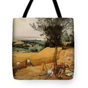 The Harvesters By Pieter Bruegel The Elder                             Tote Bag