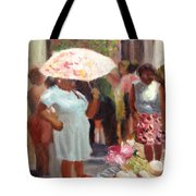 The Hat Lady Tote Bag