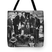 The Hatfields, 1899 - To License For Professional Use Visit Granger.com Tote Bag