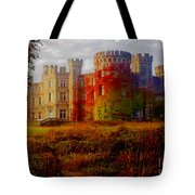 The Haunted Castle Tote Bag