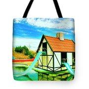 The Hazmat Water Park Tote Bag